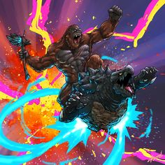 Godzilla Comics, Godzilla Vs, Tim Burton Batman, King Kong Vs Godzilla, Creature Picture, Godzilla Wallpaper, Wings Of Fire Dragons, Cute Fantasy Creatures, Arte Cyberpunk