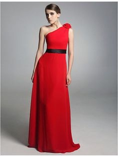 Red And Black Bridesmaid Dresses - Fn Dress