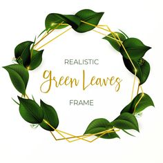 Beautiful wreath with green leaves Free Vector Beautiful Wedding Invitations, Floral Wedding Invitations, Diy Birthday Invitations, Page Borders Design, Green Theme, Plant Art, Embroidery Patterns Free, Flower Frame, Green Leaves