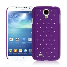 Samsung Galaxy S4 - Bling Accent Purple (EMPIRE GLITZ Slim-Fit Case)