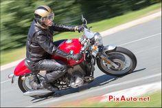 Cafe Racer Classique BMW, Chicane de Faye, Circuit Linas-Montlhery