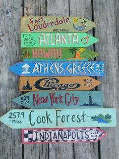 Outdoor Signs, Backyard Signs, Wood Sealer, Wooden Arrows, Directional Signs, Arrow Signs, Beach Signs, Diy Signs, Handwriting Styles