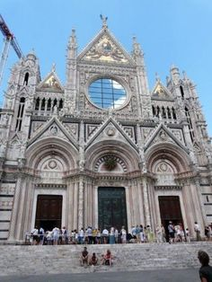 The cathedral - Siena, Italy. I absolutely cannot wait for this summer! :D
