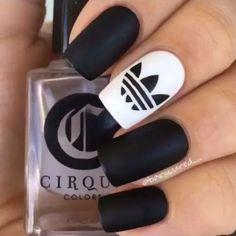 Easy nail art designs, Soak off acrylic nails. Simple Nail Art Designs, Best Nail Art Designs, Matte Nail Designs, Awesome Designs, Cute Nail Art, Easy Nail Art, Love Nails, Fun Nails, Matt Nails