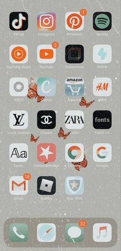 Organize Apps On Iphone, Iphone App Layout, Wallpaper App, Wallpapers, Accessoires Iphone, Phone Organization, Cute Cases, Instagram Story Ideas, Homescreen