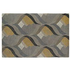 Kaleen Montage Hourglass Geometric Wool Rug,