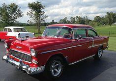 1955 Chevy 2-Door Sedan.