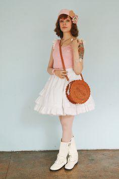 Casual Lolita, biscuit purse!!