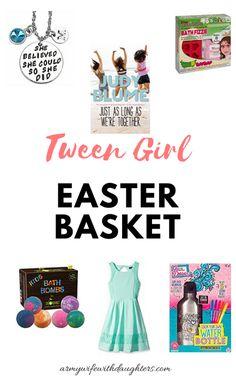 Tween  Girl Easter Basket Ideas