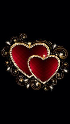 Hearts ♡♡♡Wallpaper... By Artist Unknown...