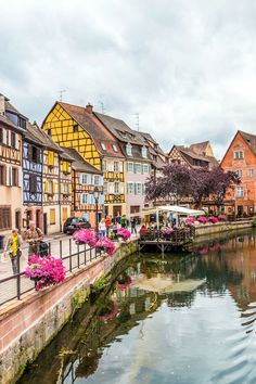Colmar - a real life fairy tale | charming small towns in #France