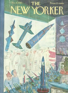 The New Yorker - Saturday, December 9, 1961 - Issue # 1921 - Vol. 37 - N° 43 - Cover by : Anatol Kovarsky