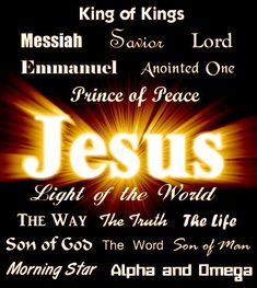 Jesus, name above all names. At the name of Jesus Every knee will bow and every tongue shall confess that Jesus Christ is Lord The Lord, Lord And Savior, All Names, Names Of God, King Jesus, God Jesus, Son Of God, Names Of Jesus Christ, Jesus Music