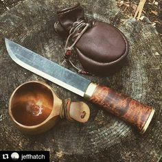 Natural #iconicsurvival • • • Photo by @jeffhatch #bushcraft #nature #survival #explore #outdoors #wild #wildernessculture #bush #bushknife #leather #hiking #mountains #forest