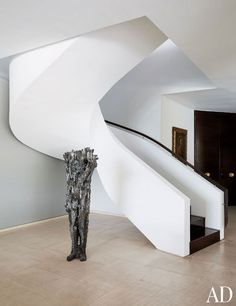 Nancy Gonzalez's duplex apartment, Colombia, Jean-Louis Deniot | staircase