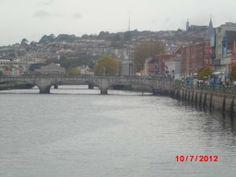 The river going through Cork