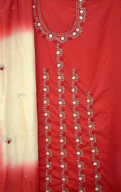 Re: Butterfly design continues. Diy Embroidery Kit, Embroidery Suits Design, Hand Work Embroidery, Applique Embroidery Designs, Rose Embroidery, Bridal Suits Punjabi, Embroidery Suits Punjabi, Fashion Design Sketchbook, Kurti Patterns