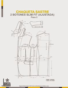 modelist kitapları: Manual-de-Patronaje-Basico-e-Interpretacion-de-Disenos Blazer Pattern, Suit Pattern, Collar Pattern, Jacket Pattern, Coat Patterns, Clothing Patterns, Sewing Patterns, Tailoring Techniques, Sewing Techniques