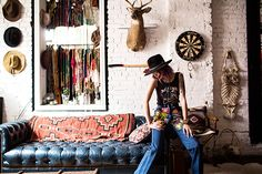 Reissued Sale This SoCal-based app is launching an exclusive sale with tastemaker Leah Hoffman, who customizes vintage apparel by hand, to rad results. When: Online and through the app now.