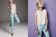 Netting top by BATM. LOVE x Blessed, Tops, Shell Tops
