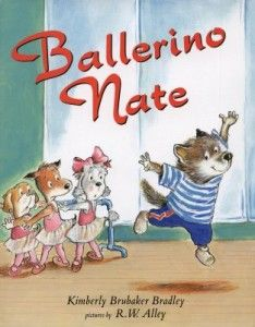 This is a story about a little boy who wants to dance and take ballet class but his brother makes fun of him telling him ballet is just for girls. I love this story and the message it sends to both girls and boys to follow their dreams regardless of others' judgement, that nothing is strictly for girls or boys.