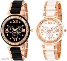 Watches Stylish Women's Watch (Set Of 2)  Material: Metal Size: Free Size Description: It Has 2 Pieces Of Watches Country of Origin: India Sizes Available: Free Size *Proof of Safe Delivery! Click to know on Safety Standards of Delivery Partners- https://ltl.sh/y_nZrAV3  Catalog Rating: ★4 (4322)  Catalog Name: Free Gift Clalssy Ladies Watches Combo Vol 1 CatalogID_77323 C72-SC1087 Code: 933-681579-