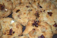 Cookies salés aux tomates sèchées et chèvre