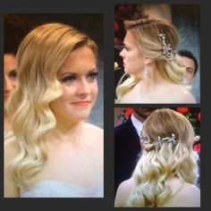 Love this hair style Mel wore in Melissa & Joey for the wedding!