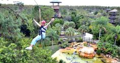 7 Places to go Zip Lining in Central Florida - http://www.orlandodatenightguide.com/2015/05/6-places-to-go-zip-lining-in-central-florida/