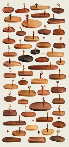 Yen Jui-Lin is a wood-making artist from Taiwan with that keen eye for what makes a dead piece of wood seem alive. Wooden Crafts, Diy And Crafts, Wooden Key Holder, Design Industrial, Diy Holz, Whittling, Wood Toys, Wood Design, Wood And Metal