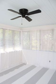 hanging curtains with tension wire, home maintenance repairs, reupholster, wall decor, window treatments, The curtains bring the breeze in allow me to still see the yard and hide my hideously old windows