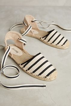 Soludos Wrapped D'Orsay Espadrilles #anthropologie