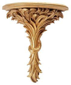 One Kings Lane - The Moving Sale - Large Acanthus Leaf Wall Bracket Onekingslane.com/shop/madcapcottage