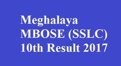 Meghalaya 10th Result 2017