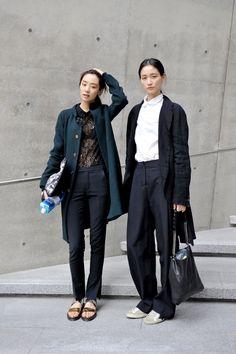 Street style, Seoul fashion week