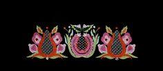 """TANUKIRI"" Stickdesign mit 26302 Stichen, ca. 20,8 cm x 6,6 cm"