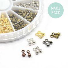 perles larme finition x750 perles de 6 couleurs 7x2,5m - apprêts bijoux