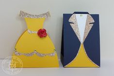 Caixinhas - A Bela e a Fera Personaliz. Beauty And Beast Birthday, Beauty And The Beast Theme, Beauty And The Best, Disney Beauty And The Beast, Princess Belle Party, Princess Crafts, Diy Cards And Envelopes, Handmade Envelopes, Belle And Beast