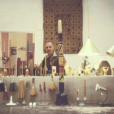 Girard at His Home in Santa Fe