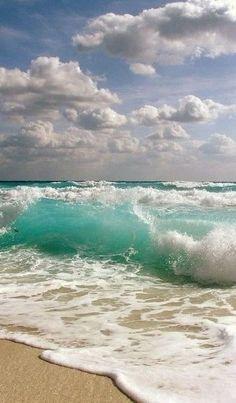 Ocean Waves and Surf Sand, white water, shore break Sea And Ocean, Ocean Beach, Ocean Waves, Beach Waves, Miami Beach, Ocean Pics, By The Sea, Summer Beach, Big Waves