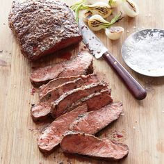 Southern Living Quick and Easy Dinner Recipes: Pan-Seared Flat Iron Steak