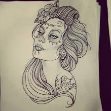 catrina tattoo - Pesquisa Google