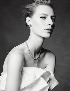 Julia Nobis stars in This is Tiffany's spring 2016 issue