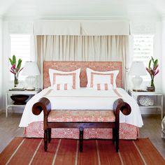 Embroidered Caribbean - Classic Tropical Island Home Decor - Coastal Living