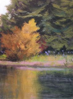 """©2012 Paula Ann Ford, Untitled. Soft Pastels on Canson (smooth side), 12""""x9"""""""