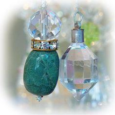 "Quantum Quattro Silica & Himalaya crystal   A pendulum -  crystal, an angel, and healing one-house house"" Crystal Garden   Mejiro """