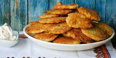 Over 500 of the best Hanukkah recipes (or Chanukah, however you spell it! Potato Latkes, Potato Pancakes, Beignets, Matzo Meal, Hanukkah Food, Onion Rings, Antipasto, Pork Recipes, Finger Foods