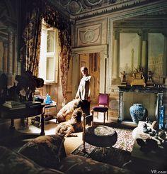 Photos: Photos: Lake Como's Villas, Interiors, and Glamorous Denizens George Clooney, Montenegro, Villas, Comer See, Art Deco, Como Italy, Italian Villa, Italian Style, Room Screen