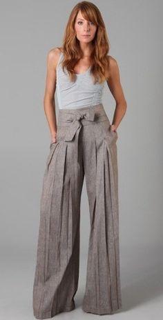 calça pantalona social - Pesquisa Google