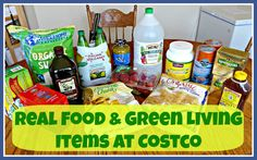 Real Food and Green Living Items at Costco